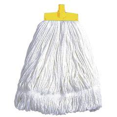 Yellow Stayflat Cotton Kentucky Mop Head 16oz.