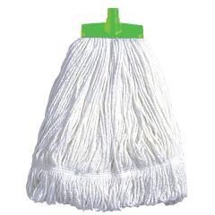 Green Stayflat Cotton Kentucky Mop Head 16oz.