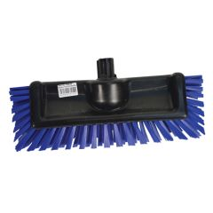 "Blue SYR Interchange Scrator Brush, 10""."