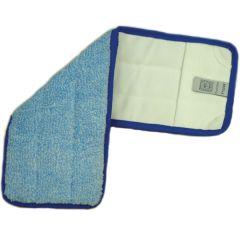 "Blue Microfibre Mop Head 17"""