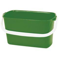 Green Oblong Bucket 9ltr