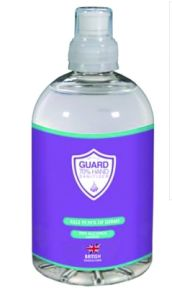 ALCOHOL GEL 500ML WITH SPORTS CAP (ETHANOL)