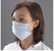 DISPOSABLE FACE MASK TYPE IIR 3 PLY (50)