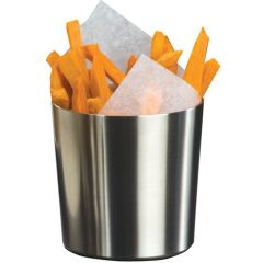 Stainless Steel Chip Cup 9x9cm