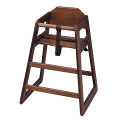 Walnut High Chair