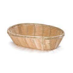 """Oval Polywicker Basket 9"""""""