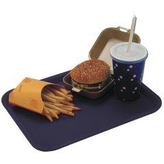 "Black Food Tray 10x14"""