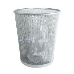 """Wire Mesh Waste Paper Basket 10"""""""