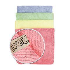 Jangro Exel Yellow Microfibre Cloth
