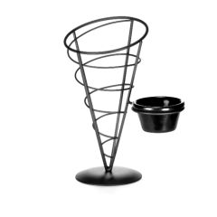 Vertigo Appertizer Cone With One Ramekin.