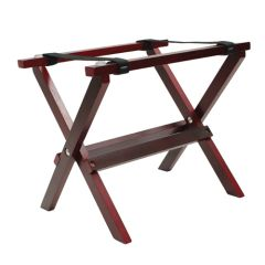 Mahogany Mini Table Tray Stand