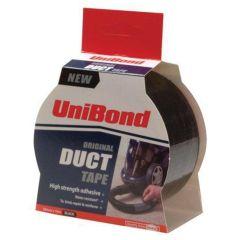 Unibond Black Duct Tape 50mm x 50m