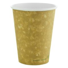 Vegware Compostable Brown Hot Cup 12oz (1000)