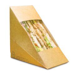 Compostable Deep Fill 75mm Sandwich Wedges (500)