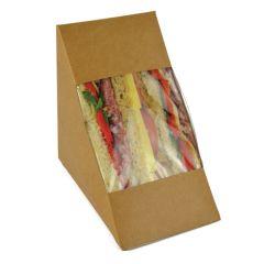 Vegware Compostable Triple Fill Sandwich Wedge (500)