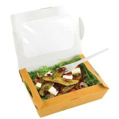 Compostable Medium Window Salad Box (300)
