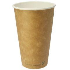 Vegware Brown Kraft Hot Cup 16oz (400)