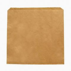 "Vegware Recycled Kraft Sandwich Bag 8.5""x8.5"" (1000)"