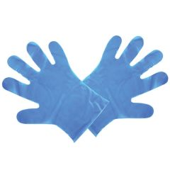 Compostable Food Handling Blue Gloves (M) (2400)