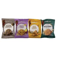 Walkers Assorted Twin Pack Biscuits For Hotels & Guest Rooms