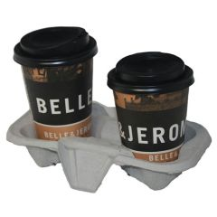 2 Cup Carry Tray Holder (180)