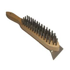4 Row Wire Brush Scraper