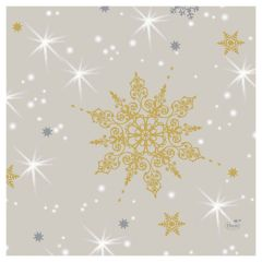 GLANCE CHRISTMAS TISSUE NAPKIN 33CM 3PLY (250)  *S