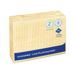 Yellow J-Cloths Plus Biodegradable