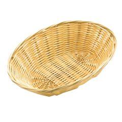 "Oval Rattan Basket 9""."