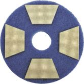3M Trizact Diamond TZ Abrasive Blue Pads (Pack of 16)