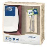 Tork 8 Fold Cream Linstyle Dinner Napkin 39cm (600)