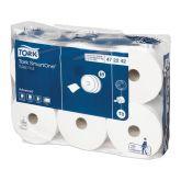 Tork Smart One Toilet Rolls White 2ply (Case of 6)