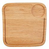 "Large Square Oak Board 11.5"" (4)"