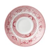 "Churchill Vintage Cranberry Willow Georgian Saucer 5.5"" (12)"