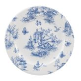 "Churchill Vintage Prague Toile Plate 8.25"" (6)"