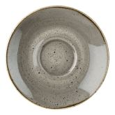 Churchill Stonecast Peppercorn Grey Cappuccino Saucer 6.25