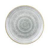 "Churchill Studio Prints Homespun Stone Grey Coupe Bowl 9.75"" (12)"