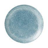 "Churchill Studio Prints Raku Topaz Blue Coupe Plate 8.7"" (12)"