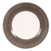 "Churchill Bamboo Spinwash Dusk Wide Rim Bowl 11"" (12)"