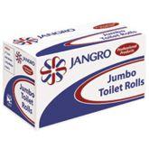 Jangro White Jumbo Toilet Roll 2.25