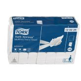 Tork Xpress Advanced Z Fold White Hand Towels 2ply (Case of 3780)