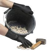 Jangro Black Industrial Rubber Gloves Size Large