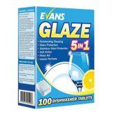 Evans Glaze All-in-One Dishwasher Tablets (120 tablets)