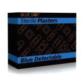 Blue Fingertip Dressings. (50)