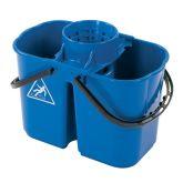 Jangro Blue Duo Hygiene Bucket 8ltr & 6ltr