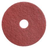 """17"""" Red Twister Floor Pads. (2)"""