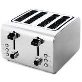 4-Slice Brushed & Polished Toaster
