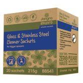 Jangro Enviro Glass & Stainless Steel Trigger Spray Sachets (Pack of 20)