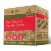 Jangro Enviro Toilet Cleaner Trigger Spray Sachets (Pack of 12)