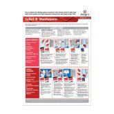 Jangro Toilet & Washroom A3 Wall Chart